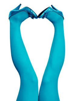 du Milde tights 60 den Happy Turquoise