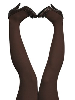 du Milde tights 60 den Brownie