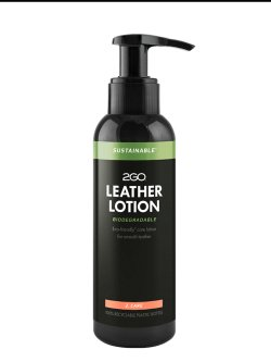 2GO Sustainable Leather Lotion