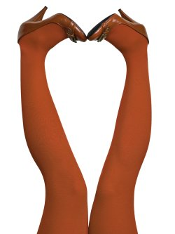 du Milde tights 60 den Burned Orange