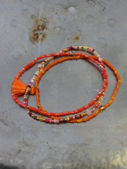 Eliza Copenhagen armbånd, Orange