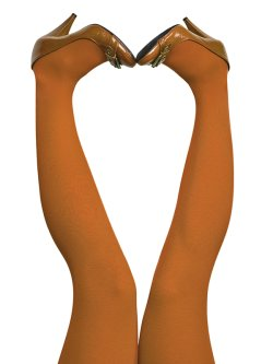 du Milde tights 60 den Pumpkin